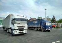 седельный тягач IVECO Stralis 430 #Х772СС174 и МАЗ-5432 #А519ВМ763. г. Самара, пл. им. В. В. Куйбышева