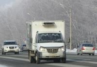 """Изотермический фургон 578812 на шасси ГАЗ-33106 """"Валдай"""" #М 542 ЕР 154.  Новосибирская область, Бердск, Барнаульская улица"""