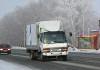 Фургон на шасси Mitsubishi Fuso Fighter #О 713 АХ 70. Новосибирская область, Бердск, Барнаульская улица