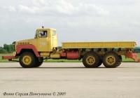 Аэродромный тягач КрАЗ-260 #Р 117 ЕУ 90. Московская обл. г. Жуковский. МАКС-2005