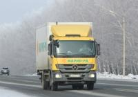 Изотермический фургон Купава 67MS00 на шасси Mercedes-Benz Actros 2541 #О 827 ТТ 22. Новосибирская область, Бердск, Барнаульская улица