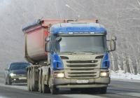 Седельный тягач Scania P400 #О 930 ЕХ 154. Новосибирская область, Бердск, Барнаульская улица
