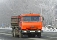 Самосвал КамАЗ-4528 на шасси КамАЗ-53205 #Т 107 ВА 54. Новосибирская область, Бердск, Барнаульская улица
