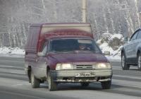 Автомобиль ИЖ-2717 #Т 386 МХ 54. Новосибирская область, Бердск, Барнаульская улица
