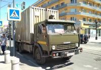 Грузовой автомобиль КамАЗ-???? #О296ЕЕ163. г. Самара, ул. Ленинградская