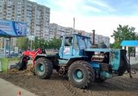 Трактор Т-150К с измельчителем пней AHWI SF-900. г. Самара, ул. Полевая