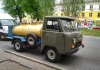 молоковоз на шасси УАЗ-3303* (шасси) #О432КУ163. г. Самара,ул. Победы