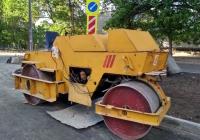 Дорожный каток. г. Самара, ул. Луначарского