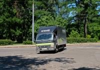 Фургон на шасси Mitsubishi Fuso #У 670 СС 47 . Москва, улица Олений Вал / 2-й Полевой переулок