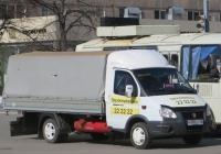 "Грузовое такси ГАЗ-330252 ""Газель"" #К 885 КТ 45.  Курган, улица Куйбышева"