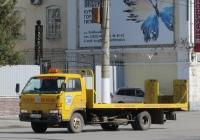 Эвакуатор на шасси Isuzu ELF #К 202 КЕ 45.  Курган, улица Куйбышева