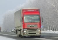 Седельный тягач MAN TGA 18.390 #У 063 РМ 22. Новосибирская область, Бердск, Барнаульская улица