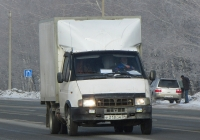 """Фургон ГАЗ-274701 на шасси ГАЗ-33021 """"Газель"""" #У 318 ОМ 54. Новосибирская область, Бердск, Барнаульская улица"""