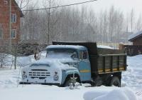 Самосвал ЗиЛ-ММЗ-4502 на шасси ЗиЛ-495810 #Х 089 ОУ 54. Новосибирская область, Бердск, Верхняя улица