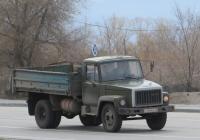 Самосвал ГАЗ-САЗ-3507 на шасси ГАЗ-3307  #Т 769 КН 45.  Курган, улица Ленина