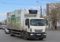 Фургон АФ-4750Е3 на шасси IVECO EuroCargo #О 449 НС 750. Курган, Пролетарская улица