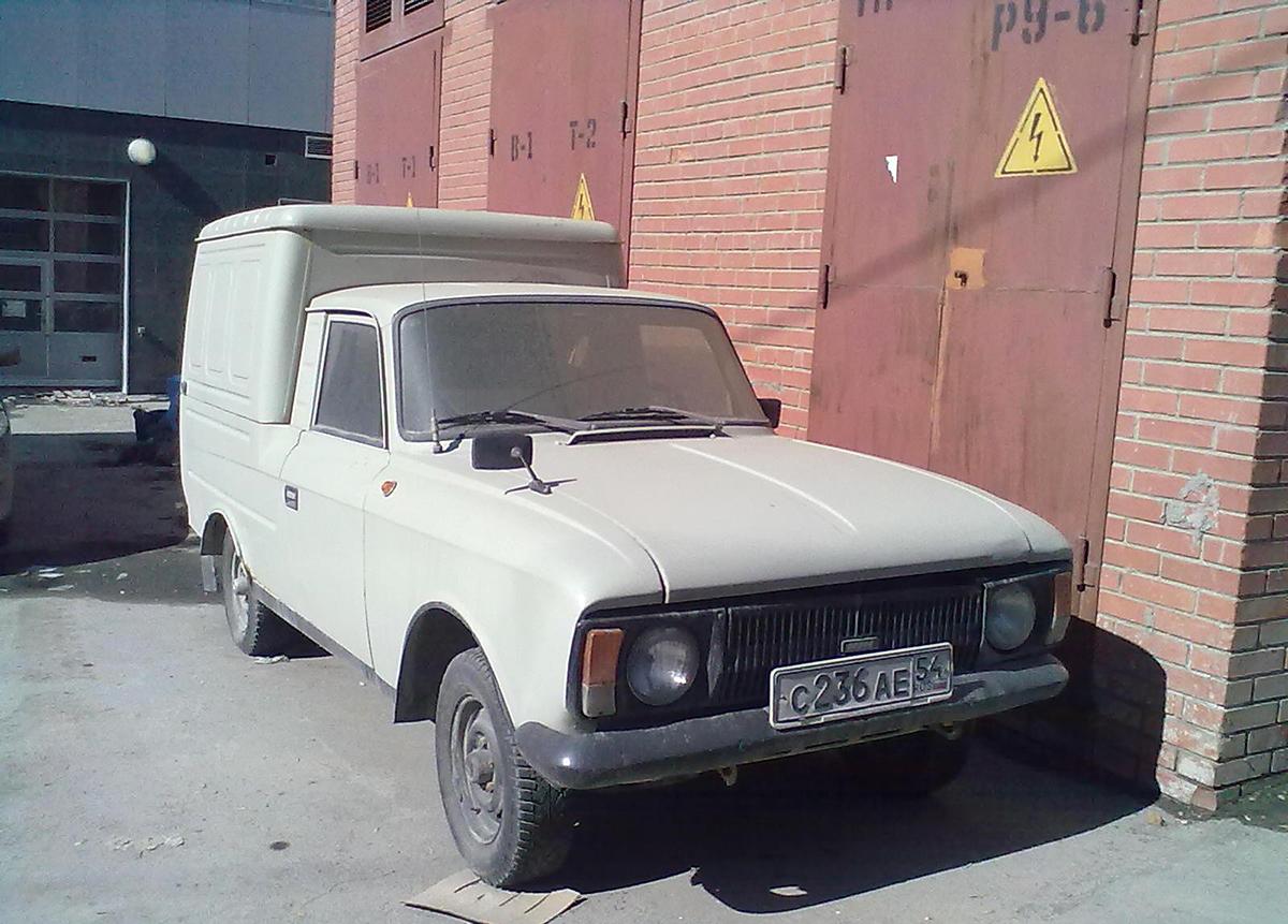 Фургон ИЖ-2715-016-01 #С 236 АЕ 54. Новосибирск, Большевистская улица