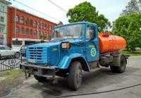 Поливомоечная машина МДК-433362 #О 037 УУ 163. Самара, сквер им. В.С. Высоцкого