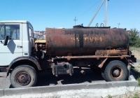 Автоцестерна для перевозки битума на шасси МАЗ  . Псков АБЗ