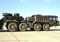 Седельный тягач КЗКТ-74281 на МАКС-2001. Московская область, Жуковский