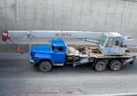 Автокран КС-3575А на шасси ЗиЛ-133ГЯ. . Киев. ул. О. Телиги.