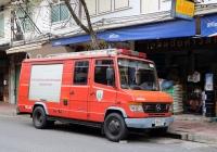 Пожарный автомобиль Rosenbauer на шасси Mercedes-Benz #98-9378. Таиланд, Бангкок