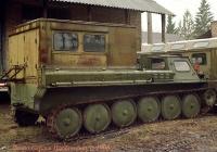 Полевой автоклуб АКД-67 на шасси ГАЗ-71(ГТ-СМ).. Киев.