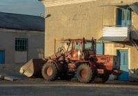 Погрузчик фронтальный ТО-25 на базе трактора Т-158. Хмельницкая область, Городокский район, лесничество