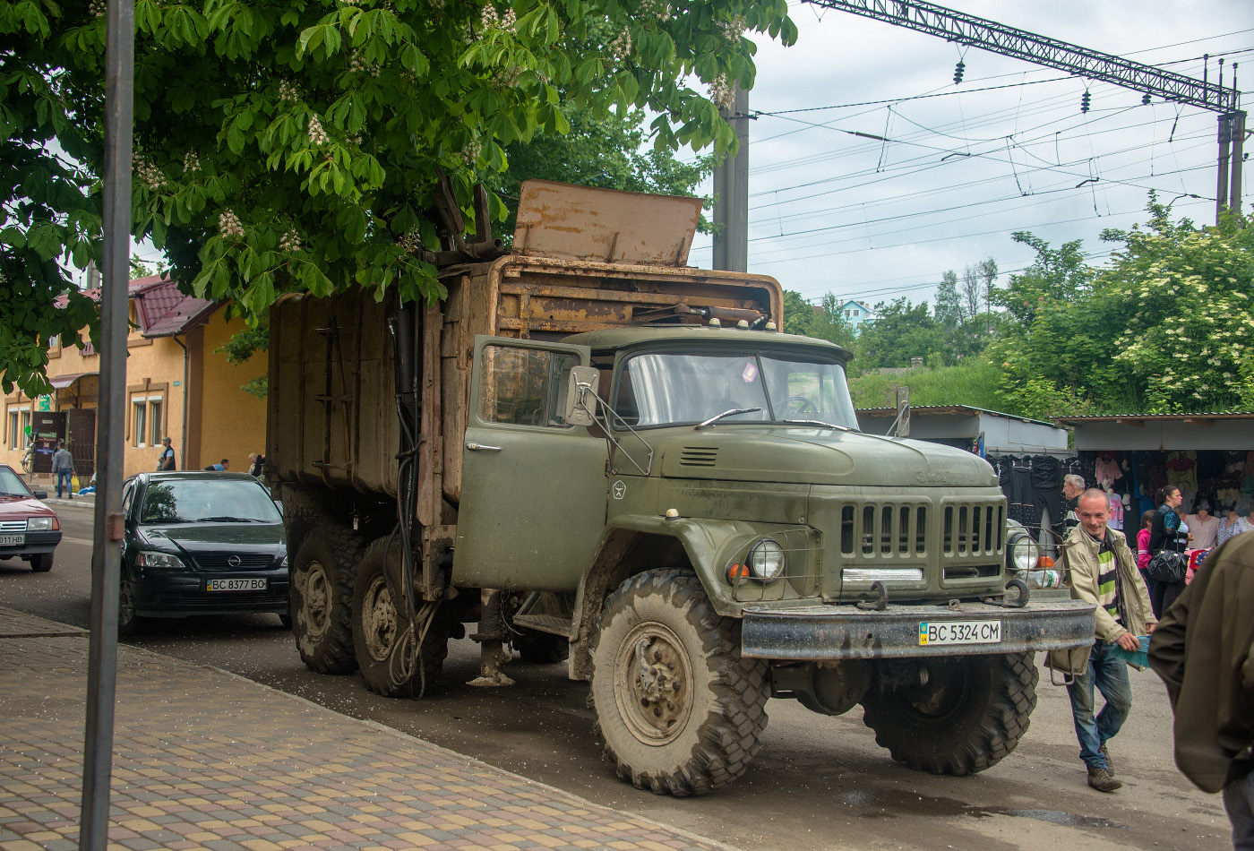 Мусоровоз на шасси ЗиЛ-131 #ВС 5324 СМ. Львовская область, Турка