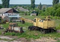 Трактор Т-74 и кран КС-4361А. Хмельницкая область, Чемеровецкий район, Закупное