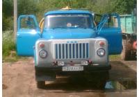 Автоцистерна АЦПТ-3,3 на шасси ГАЗ-53-12 #Т378АУ60. Псковская область, город Порхов