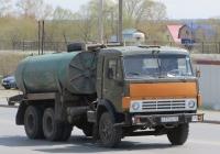 Вакуумная машина типа КО-505А на шасси КамАЗ-53213 #С 777 КК 45. Курган, улица Климова