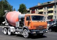 Автобетоносмеситель на шасси КамАЗ-65115 #АА 0837-6. Беларусь, Могилёвская область, Кричев