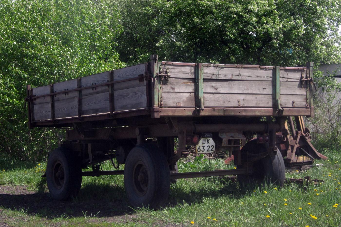 Тракторный прицеп типа 2ПТС-4* #ШК 6322. Свердловская область, Байкалово