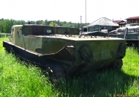 Переделанный БТР-50П. Алтайский край, Ребрихинский район