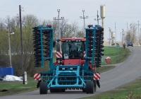 Трактор Case IH Quadtrac 500 # 3410 ЕТ 31 с дисковым лущильником. Белгородская область, Алексеевский район, х. Неменущий
