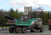 Трактор Т-150К # 1735 ЕС 31 с самосвальным полуприцепом # 1721 ЕС 31. Белгородская область, г. Алексеевка, ул. Тимирязева