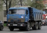Самосвал КамАЗ-65115 #С 115 СМ 72. Тюмень, Магнитогорская улица
