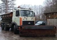 МДК-6303 на шасси МАЗ-6303 #С 410 АЕ 60. Псковская область Порховский район д,Нестрино