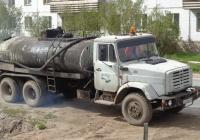 Автогудронатор ДС-142Б-04 на шасси ЗиЛ-133Г42 #К 256 ВУ 60. Псковская область, город Порхов