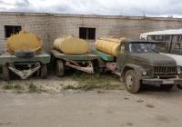 Прицепы-молоковозы на шасси ГКБ-817 и цистерна на шасси ЗиЛ-130*. Псковская область, город Порхов
