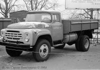 Грузовик ЗиЛ-138 для работы на сжиженном газе. Автопром-84.. Москва, ВДНХ