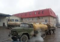 Автоцистерна для перевозки молока на шасси ЗиЛ-130 #Е 987 ВХ 60. Псковская область, город Порхов