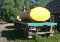 Автоцистерна для перевозки молока на прицепе ГКБ-817 #ВВ 6477 60, . Псковская область, Порховский район, д. Нестрино