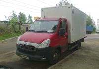 Автомобиль фургон на шасси Ивеко, #К 138 КХ 29. Санкт-Петербург, Южное шоссе