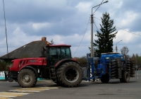 МТЗ-3022ДЦ с посевным агрегатом. Беларусь, Могилёвская область, Краснополье