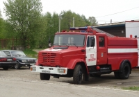 Пожарная цистерна АЦ-4,0-40(433112)ПМ-599 на шасси ЗиЛ-433112 #В 063 РМ 47. Ленинградская область, Всеволожский район, пос. Свердлово