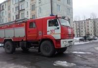 Пожарный автомобиль АЦ-3,0-40 (4350) на шасси КамАЗ-43502 #В 531 УК 47. Ленинградская область, Всеволожский район, Свердлово