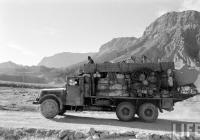 Грузовой автомобиль Tatra-111. Афганистан, трасса Термез - Хайратон - Мазари-Шариф - Кабул