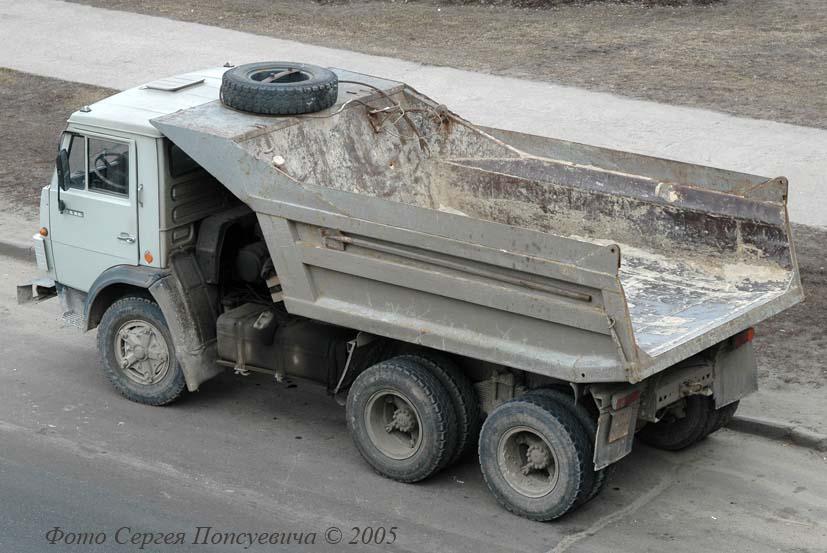 Самосвал КамАЗ-5511. . Киев.